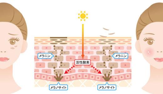 紫外線だけではない!活性酸素が増えすぎるとシミの原因に・・・